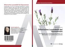 Buchcover von Ätherisches Lavendelöl bei Dyssomnien