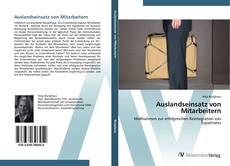 Bookcover of Auslandseinsatz von Mitarbeitern