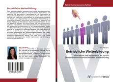 Capa do livro de Betriebliche Weiterbildung