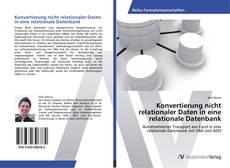 Capa do livro de Konvertierung nicht relationaler Daten in eine relationale Datenbank