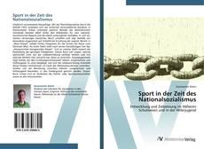 Buchcover von Sport in der Zeit des Nationalsozialismus