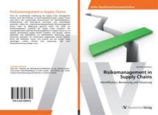 Buchcover von Risikomanagement in  Supply Chains