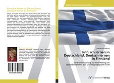 Bookcover of Finnisch lernen in Deutschland, Deutsch lernen in Finnland