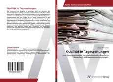 Bookcover of Qualität in Tageszeitungen
