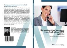 Bookcover of Kampagnenmanagement innerhalb eines CRM-Systems