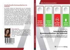 Capa do livro de Interkulturelle Kommunikation im Internet