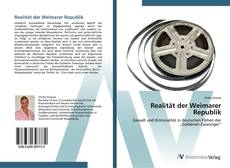 Copertina di Realität der Weimarer Republik