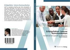 Bookcover of Erfolgsfaktor- Interne Kommunikation