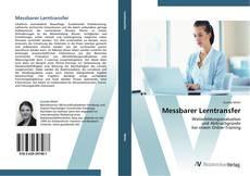 Messbarer Lerntransfer kitap kapağı