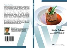 Bookcover of Haute Cuisine