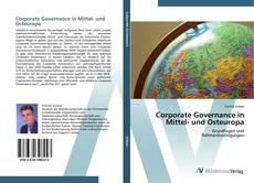 Portada del libro de Corporate Governance in Mittel- und Osteuropa
