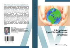 Internationale Investitionsabkommen的封面