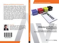Portada del libro de Bildung und Politische Partizipation