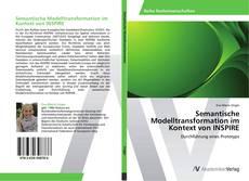 Semantische Modelltransformation im Kontext von INSPIRE kitap kapağı