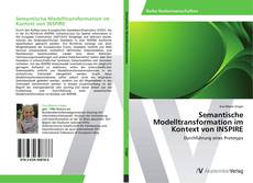 Portada del libro de Semantische Modelltransformation im Kontext von INSPIRE