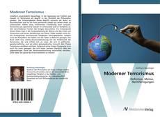 Capa do livro de Moderner Terrorismus