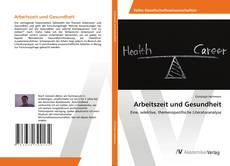 Buchcover von Arbeitszeit und Gesundheit
