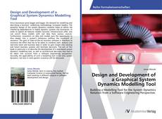 Bookcover of Design and Development of a Graphical System Dynamics Modelling Tool