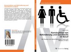 Portada del libro de Konstruktion von Behinderung und Geschlecht im Beruf