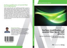 Buchcover von Surface modification of aramid fiber by air DBD plasma