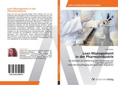 Lean Management  in der Pharmaindustrie kitap kapağı