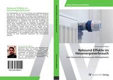 Buchcover von Rebound Effekte im Heizenergieverbrauch