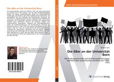Die 68er an der Universität Bern kitap kapağı