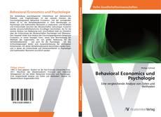 Buchcover von Behavioral Economics und Psychologie