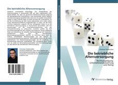 Buchcover von Die betriebliche Altersversorgung