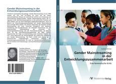 Gender Mainstreaming  in der  Entwicklungszusammenarbeit kitap kapağı