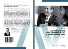 Borítókép a  Die Bilanzierung  von Unternehmens-  zusammenschlüssen - hoz
