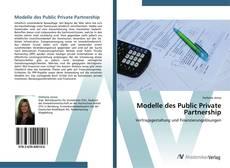 Buchcover von Modelle des Public Private Partnership