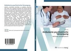 Bookcover of Ambulante psychiatrische Versorgung