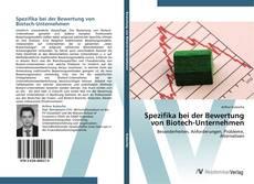 Bookcover of Spezifika bei der Bewertung von Biotech-Unternehmen