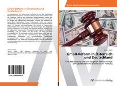 Bookcover of GmbH-Reform in Österreich und Deutschland