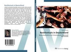 Bookcover of Rockfestivals in Deutschland