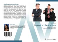 Bookcover of Mobbing im Unternehmen
