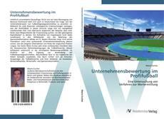Bookcover of Unternehmensbewertung im Profifußball