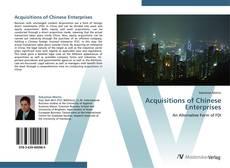 Couverture de Acquisitions of Chinese Enterprises