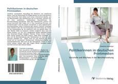 Buchcover von Politikerinnen in deutschen Printmedien