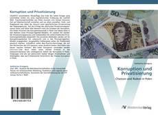 Portada del libro de Korruption und Privatisierung
