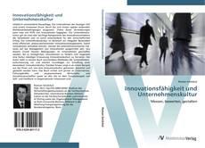 Borítókép a  Innovationsfähigkeit und Unternehmenskultur - hoz