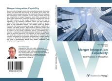 Bookcover of Merger Integration Capability