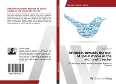Buchcover von Attitudes towards the use of social media in the nonprofit sector
