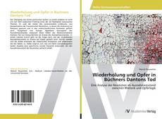 Buchcover von Wiederholung und Opfer in Büchners Dantons Tod