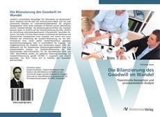 Copertina di Die Bilanzierung des Goodwill im Wandel