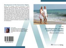 Bookcover of Development of the Generation 50plus