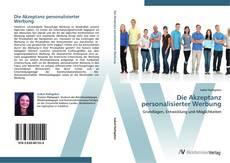 Capa do livro de Die Akzeptanz personalisierter Werbung