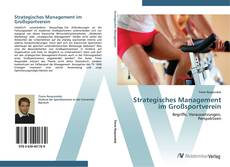 Обложка Strategisches Management im Großsportverein