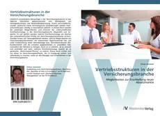 Capa do livro de Vertriebsstrukturen in der Versicherungsbranche